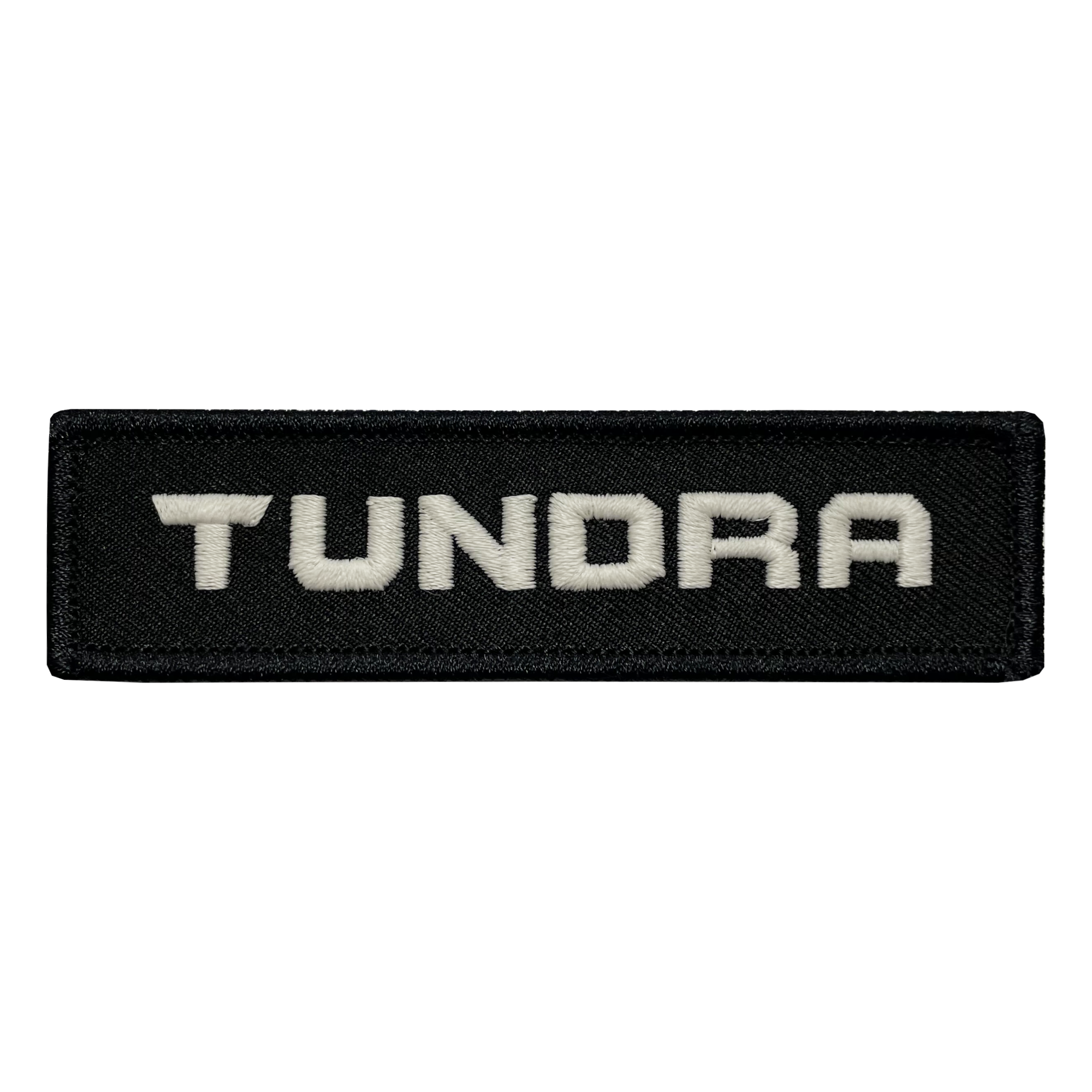 Tundra Black Name Tape Patch