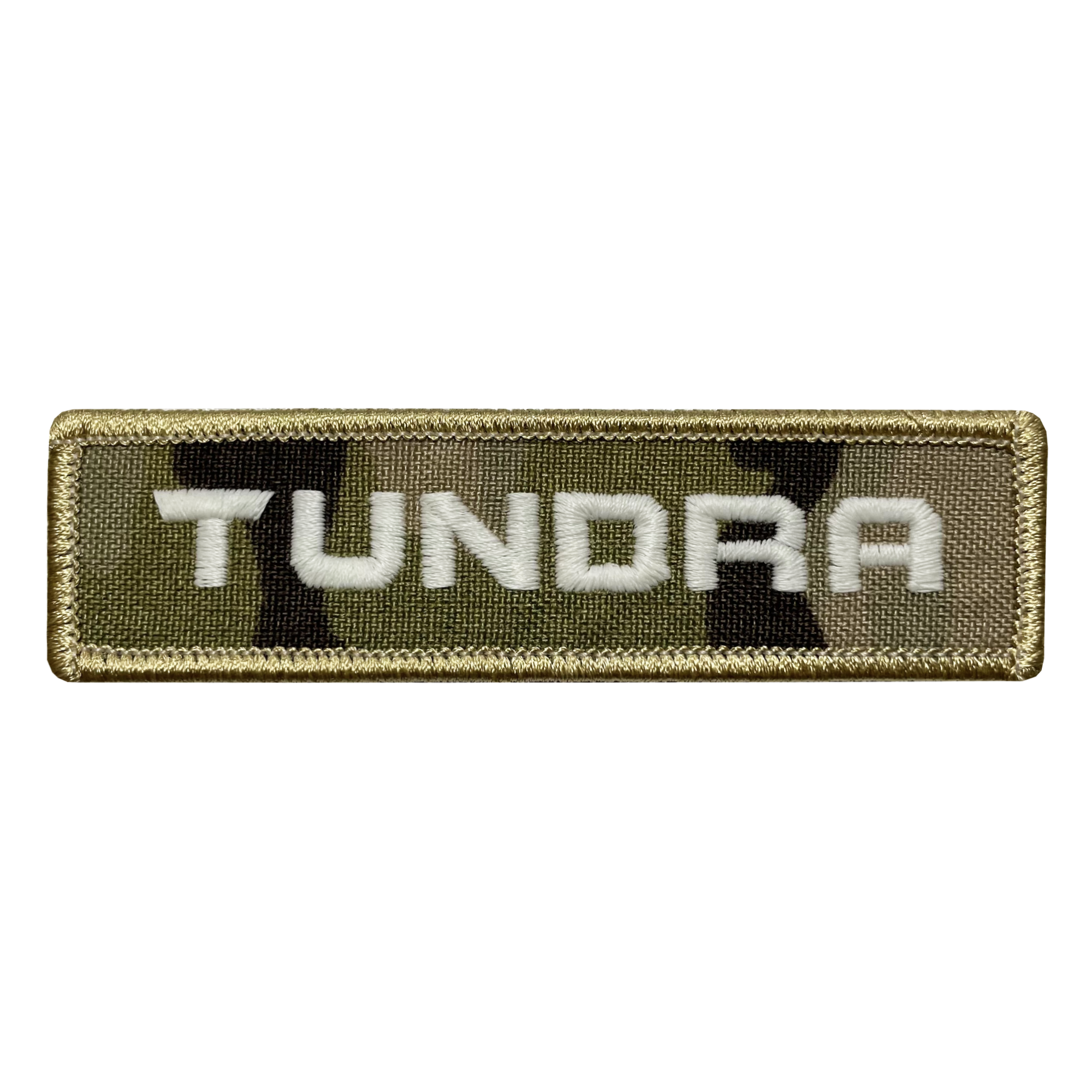 Tundra Camo Name Tape Patch