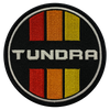 Tundra Retro Circle Patch