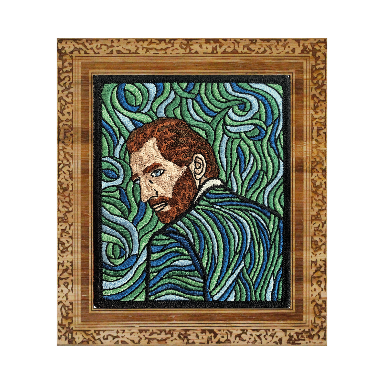 Vincent Van Gogh - Self-Portrait - Revisited Patch
