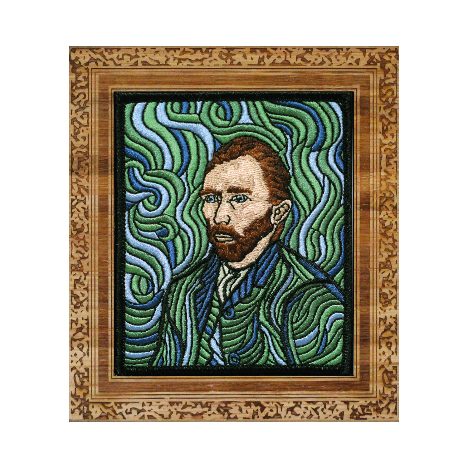 Vincent Van Gogh - Self-Portrait Patch