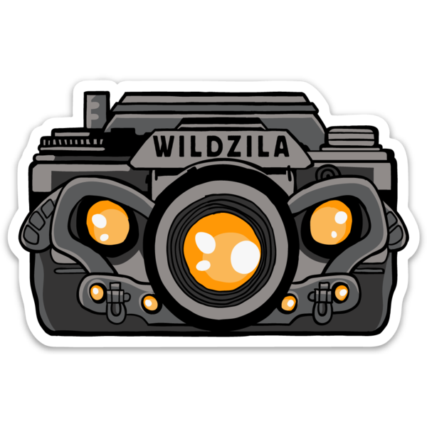 WildZila Sticker