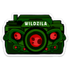 WildZila v2 Sticker
