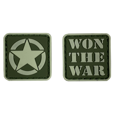 Won the War Ranger Eyes Patches