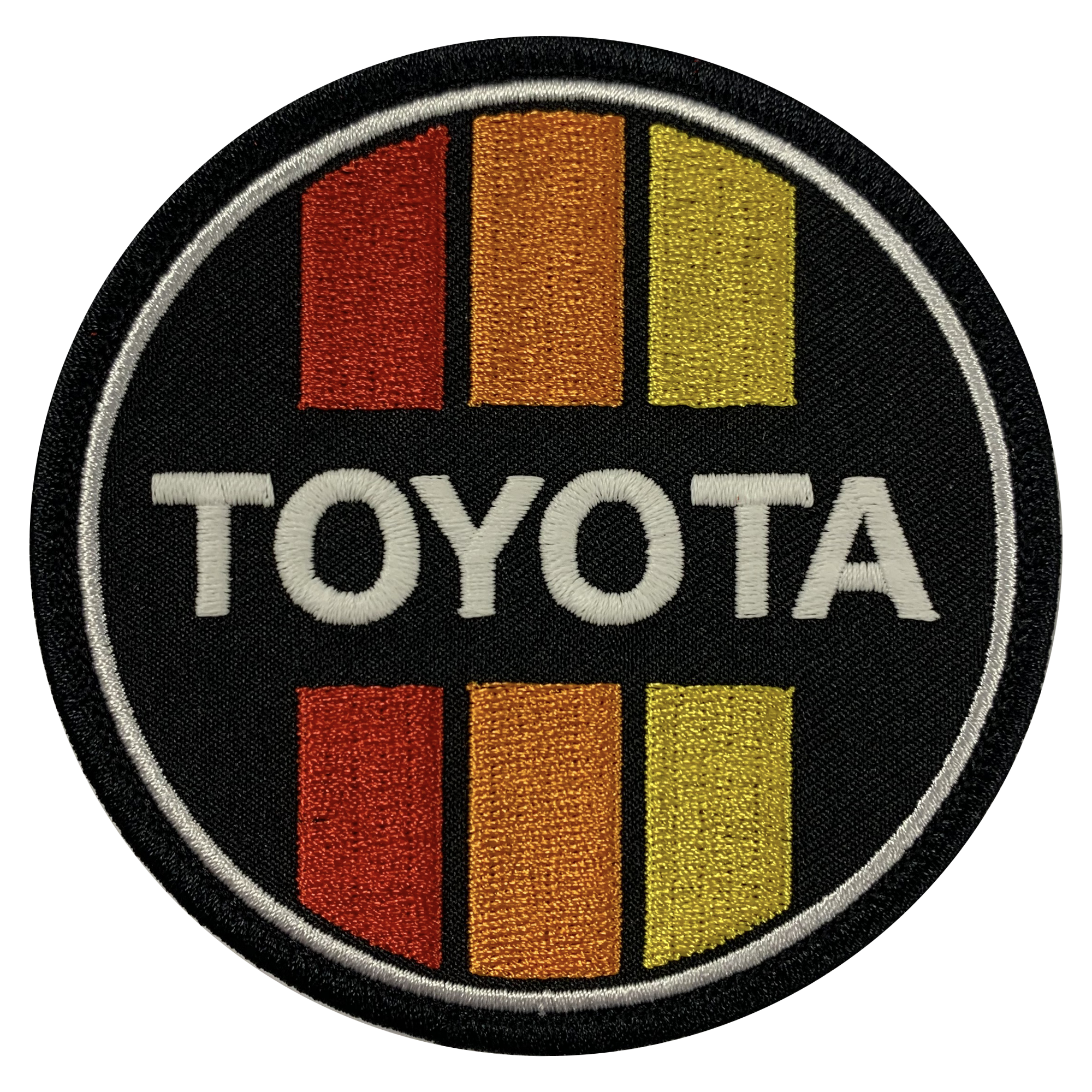 Yota Retro Circle Patch