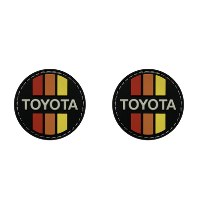Yota Retro Circle Ranger Eye Patches