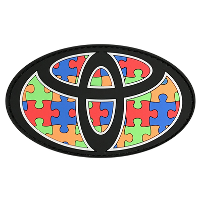 Autism Oval Patch