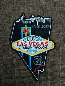 Las Vegas Memorial Charity Patch