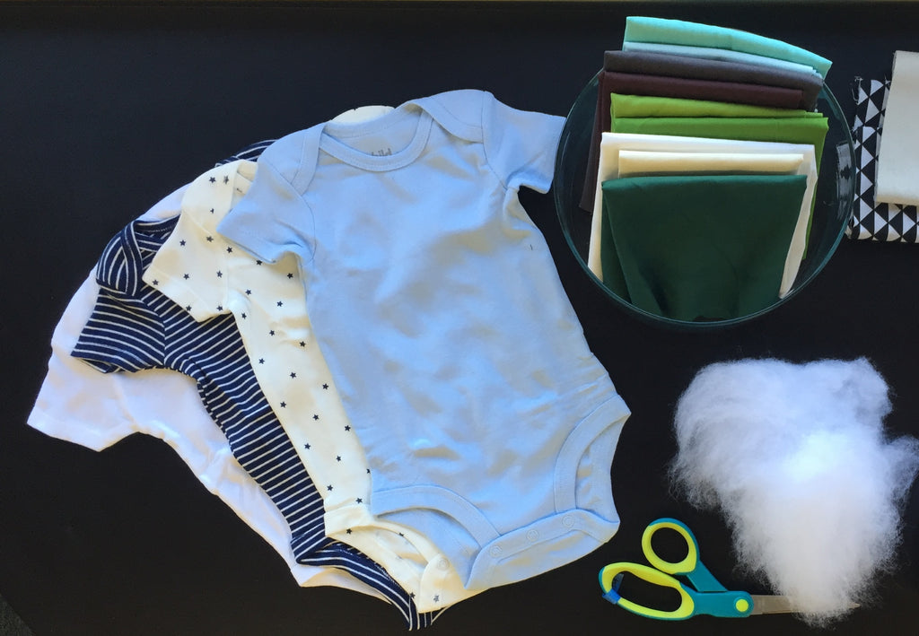 How to Print on Fabric to Customize a Onesie