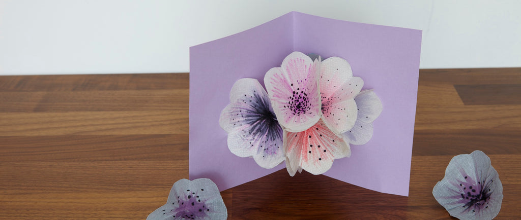 How to Make a Fabric Flower Card for Mom