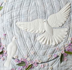 Dove Quilt Pattern Terial Magic Close up