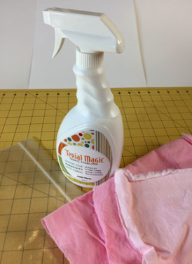 Using Terial Magic on a Quilt Project