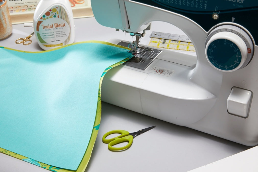 Sew Machine Cover Layer Fabrics Together