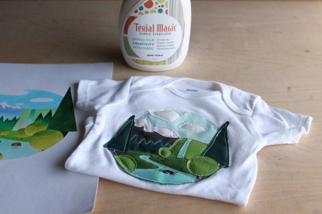 Terial Magic Tutorial Onesie DIY Project