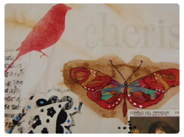 DIY Vintage Butterfly