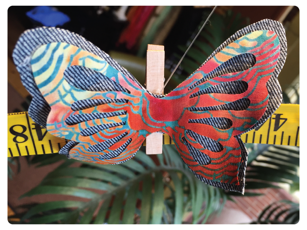 Terial Magic Butterfly Display