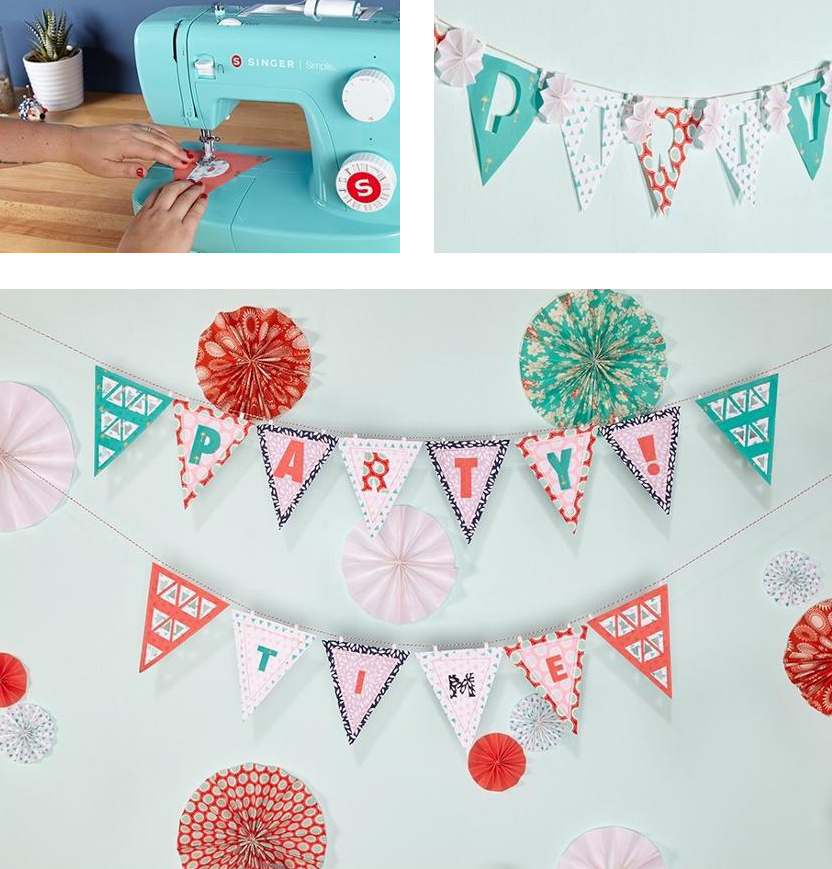 DIY Reusable Fabric Party Decor