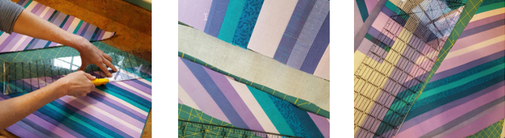How to Make a Strip Pieced Quilt Without a Pattern