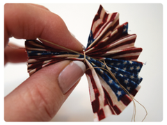 How to Make Fabric Rosettes for July 4th – Terial Magic