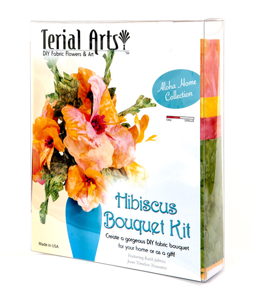 Terial Magic Hibiscus Bouquet Kit