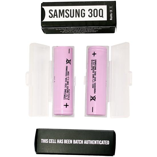 Samsung 30Q 18650 Battery 3000mAh - Single Pack -   Device - ELIQUID nastyjuiceindia - NASTYJUICE nastyjuiceindia nastyjuiceindia