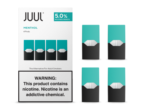 JUUL - CLASSIC MENTHOL (PRE-FILLED) POD | CARTRIDGE 5% -   Eliquid - ELIQUID nastyjuiceindia - NASTYJUICE Nasty Juice India nastyjuiceindia