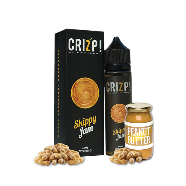 BUY ONE GET ONE FREE - CRIZP - Skippy Jam - 60ML -   Eliquid - ELIQUID nastyjuiceindia - NASTYJUICE Nasty Juice India nastyjuiceindia
