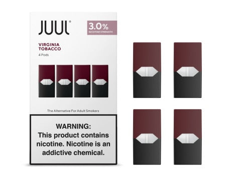 JUUL - VIRGINIA TOBACCO (PRE-FILLED) POD | CARTRIDGE 3% - 5% -   Eliquid - ELIQUID nastyjuiceindia - NASTYJUICE Nasty Juice India nastyjuiceindia