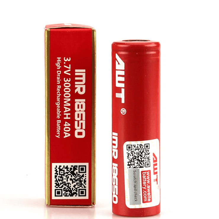 AWT 18650 3000mAh Battery - Single -   Device - ELIQUID nastyjuiceindia - NASTYJUICE nastyjuiceindia nastyjuiceindia