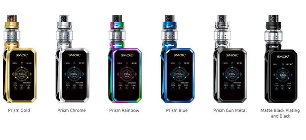 Smoktech G-Priv 2 Luxe Edition 230W TC Mod Kit with Battery -   Device - ELIQUID nastyjuiceindia - NASTYJUICE nastyjuiceindia nastyjuiceindia