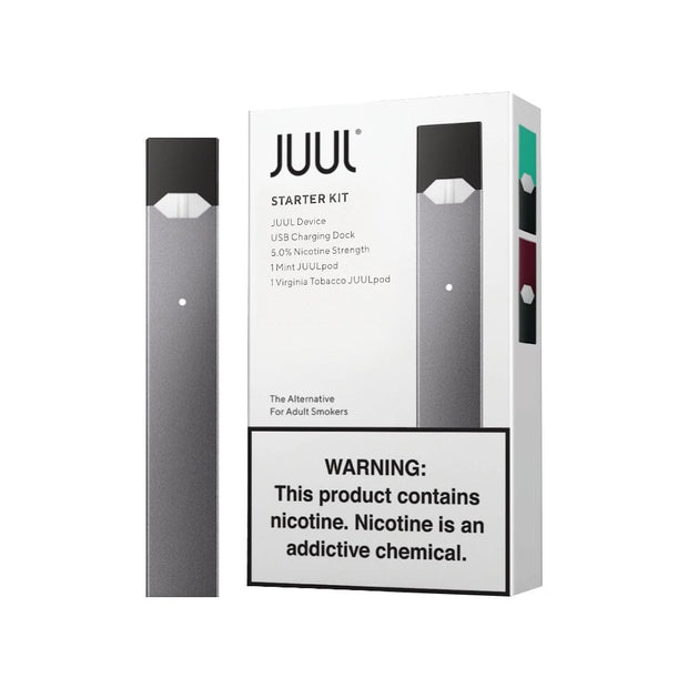 JUUL STARTER KIT | E-CIGARETTE KIT with pods -   Device - ELIQUID nastyjuiceindia - NASTYJUICE Nasty Juice India nastyjuiceindia