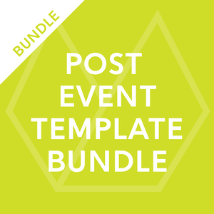 Post Event Template Bundle