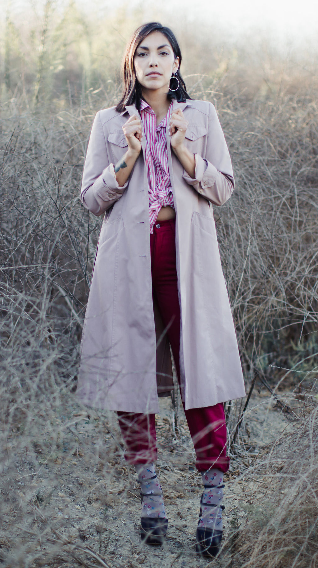 MAUVE TRENCH
