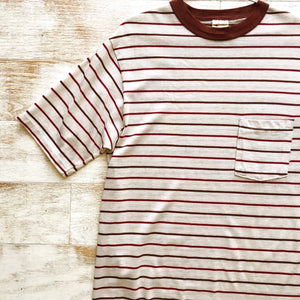 Brown Striped Tee