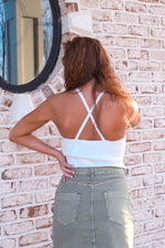 Sophia Cross Back Tank