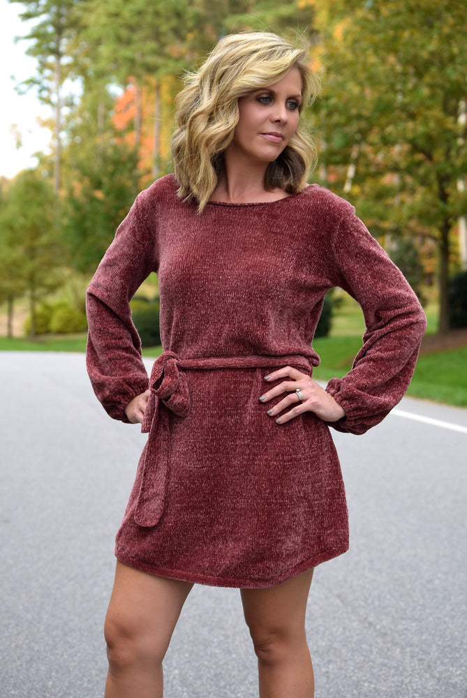 Everly Chenille Dress