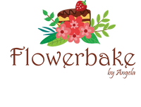 Flowerbake by Angela Bakery Custom Cakes and Other Treats in Westchester, NY Logo