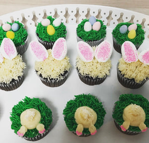 Easter Themed Cupcakes by the Dozen