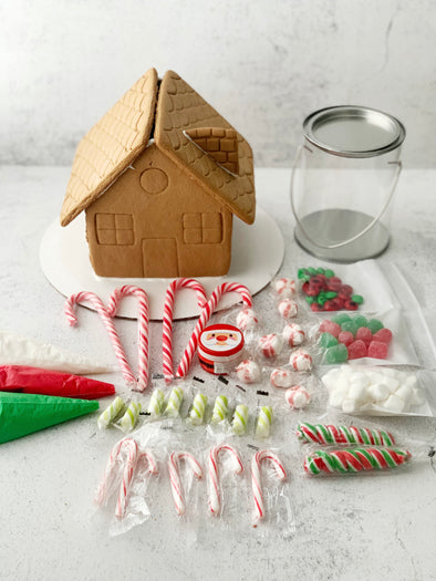 Decorate Your Own Pre-Assembled Gingerbread House Kit