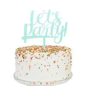 Let's Party Topper - Flowerbake by Angela