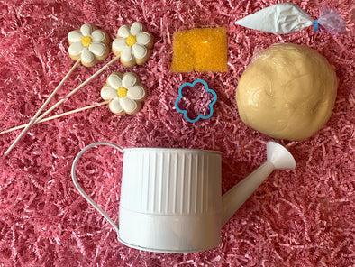 BakesyKit Mother's Day Flowers Cookie Kit (Cookie Dough) - Flowerbake by Angela