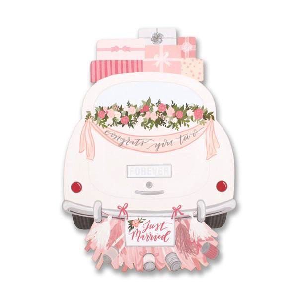 Wedding Car Card - Flowerbake by Angela