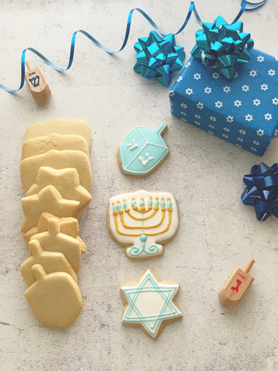 BakesyKit Hanukkah Cookie Kit (Baked)
