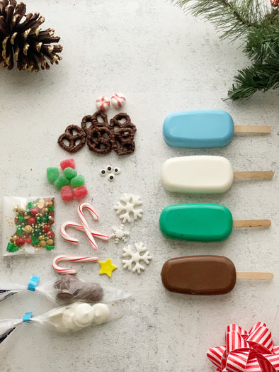 BakesyKit Decorate Your Own Holiday Cakesicles