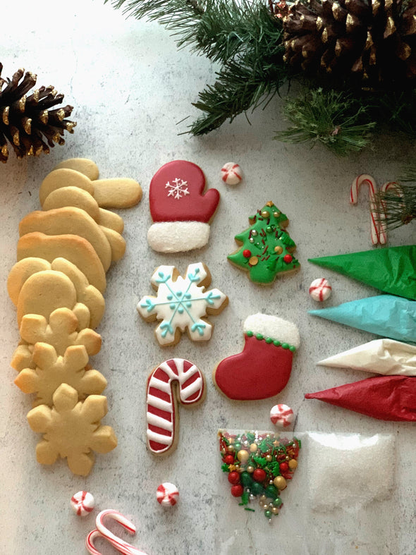 BakesyKit Holiday Cookie Kit (Baked)