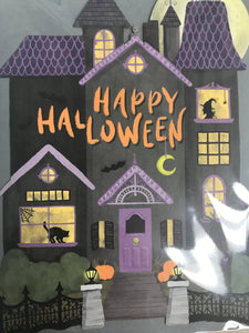 Halloween Card - Flowerbake by Angela