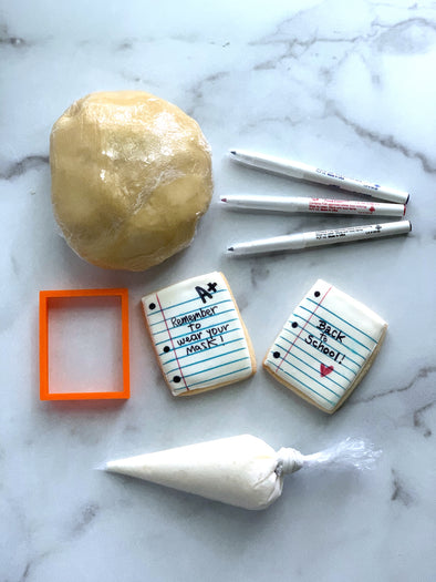 BakesyKit Back to School Cookie Kit (Cookie Dough)