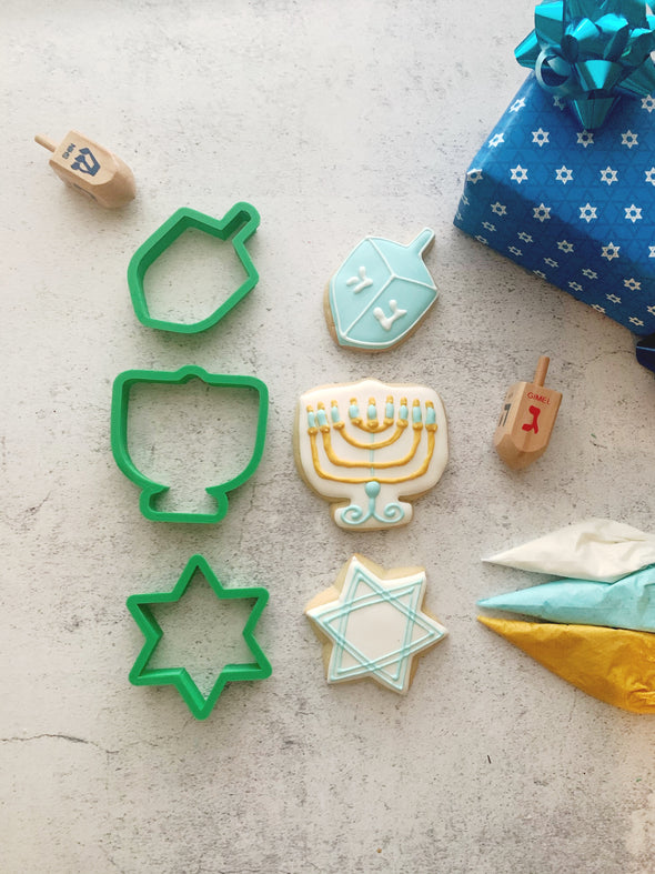 BakesyKit Hanukkah Cookie Kit (Dough)