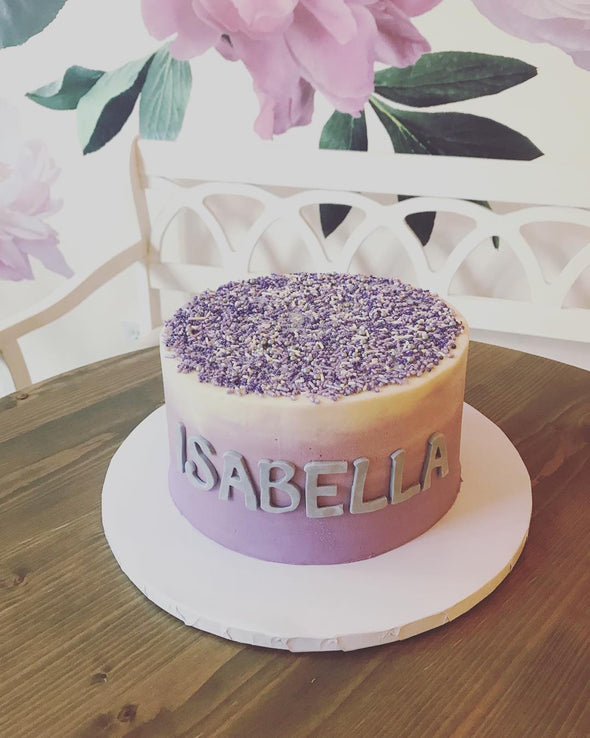 Buttercream Ombre Sprinkles Cake - Flowerbake by Angela