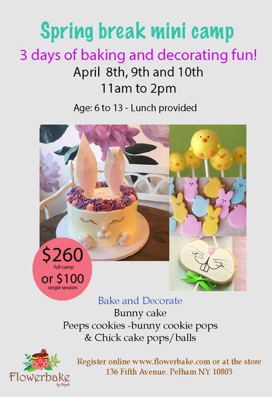 Spring Break Mini Baking Camp - Workshops - Flowerbake by Angela